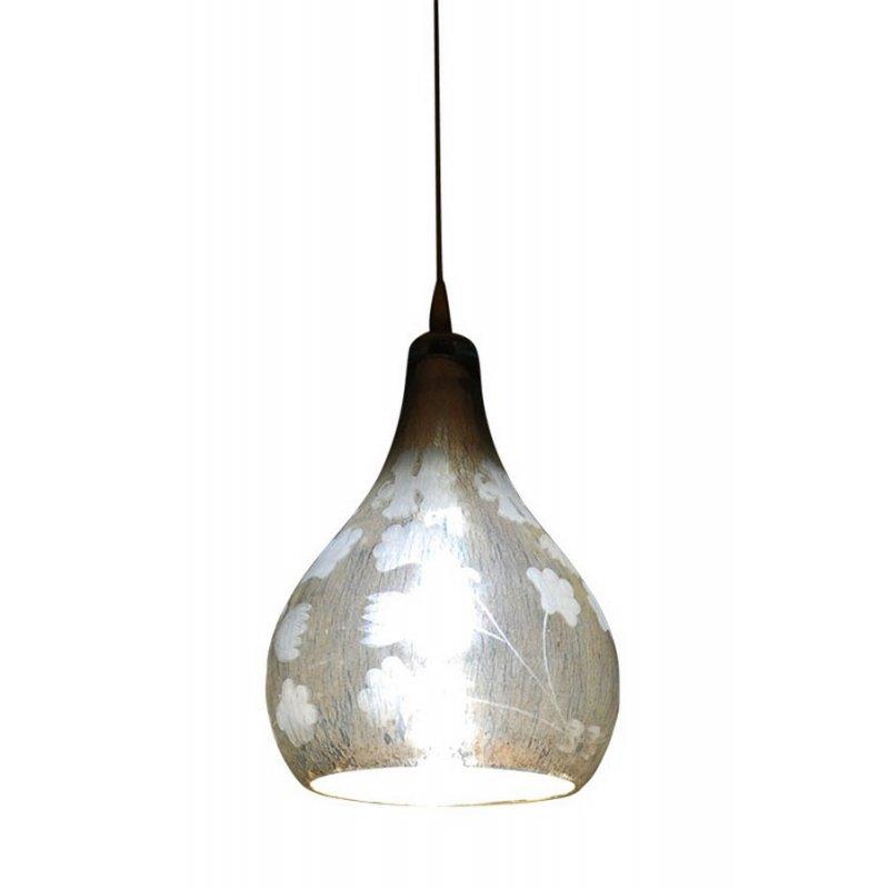 h ngelampe mercury glass flower lamp 149 00. Black Bedroom Furniture Sets. Home Design Ideas